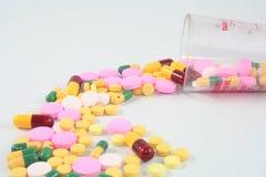 Drug. Prescription drugs such as generic drugs Stock Image