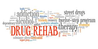 Drug rehab royalty-vrije illustratie
