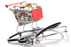Drug shopping Royalty Free Stock Photography