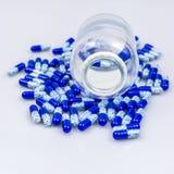 Drug spill stock image