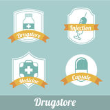 Drug store Royalty Free Stock Photography