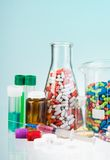 Drug store assortment Royalty Free Stock Images