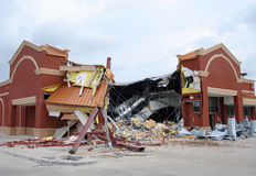 Drug Store Demolition Stock Photo