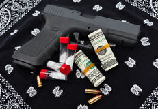 Drug Trafficking and Gangs Stock Images