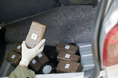 Drug trafficking Stock Photo