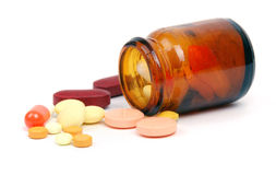 Drug in vial Stock Photography
