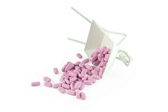 Drug voor de bouw van gezondheid Stock Afbeelding