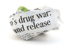 Drug War News Stock Photography