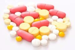 Drug on white desk Royalty Free Stock Photo