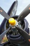 Druga Wojna Światowa Marynarki wojennej Corsair Myśliwiec Fotografia Royalty Free