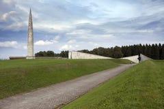 Druga Wojna Światowa pomnik na Maryjnym wzgórzu Maarjamae w okręgu Pirita, Tallinn kapitał Estonia Zdjęcia Stock