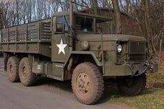 Druga Wojna Światowa Wojska Ciężarówka Zdjęcie Royalty Free