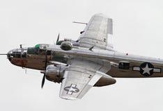 Druga Wojna Światowa Bombowiec B-25 Mitchell Zdjęcie Stock