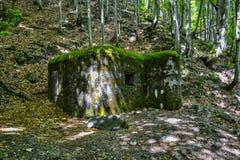 Druga Wojna Światowa bunkier zdjęcia stock
