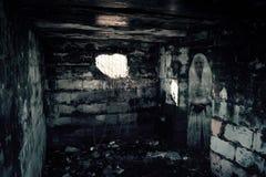 Druga Wojna Światowa bunkieru duch Zdjęcia Stock