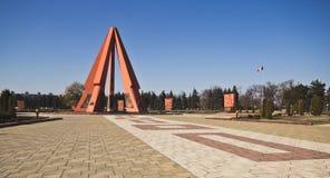 Druga Wojna Światowa pomnik, Chisinau, Moldova Fotografia Stock