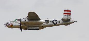 Druga Wojna Światowa rocznika B-25 bombowiec Fotografia Stock