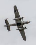 Druga Wojna Światowa rocznika B-25 bombowiec Fotografia Royalty Free