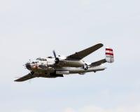 Druga Wojna Światowa rocznika B-25 bombowiec Obrazy Stock