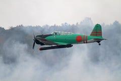 Druga Wojna Światowa Samolot Reenact Pearl Harbour Ataka Fotografia Royalty Free