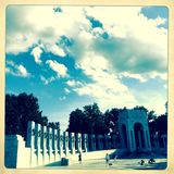 Druga Wojna Światowa zabytek, Waszyngton, DC Zdjęcie Stock