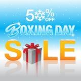 Drugi Dzień Świąt Bożego Narodzenia sprzedaży etykietka Obrazy Stock