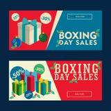 Drugi Dzień Świąt Bożego Narodzenia sprzedaże Talonowe Zdjęcie Stock