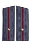 Drugi lieutenant Radziecka policja Zdjęcie Stock