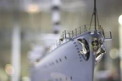 Drugi wojenny statek - wzorcowa miniaturowa reprodukcja zdjęcia royalty free