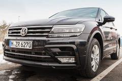 Drugie pokolenie Volkswagen Tiguan Zdjęcia Stock