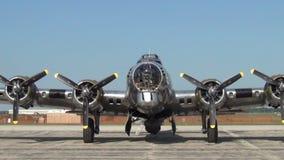Drugiej Wojny Światowa B-29 bombowiec zbiory wideo