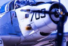 Drugiej Wojny Światowa marynarki wojennej Corsair Zdjęcia Royalty Free