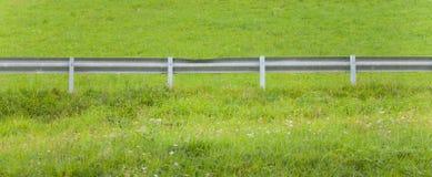 Drugorzędna drogowa poręczówka w halnym paśniku Fotografia Royalty Free
