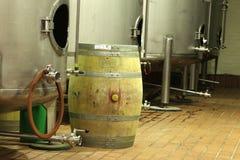 Wino fermentacja obraz stock