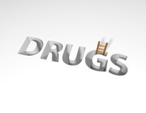 Drugs Royalty Free Stock Photo