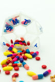 Drugs addict Royalty Free Stock Photography
