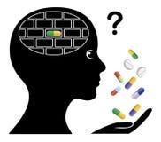 Drugs causing Memory Loss Stock Photo