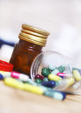 Drugs for controlling diseases Royalty Free Stock Photography