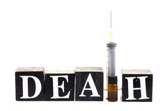 Drugs and death Stock Images