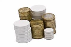 Drugs en geld. Royalty-vrije Stock Fotografie