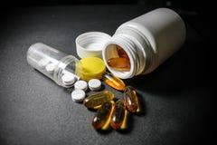 Drugs en pillen Stock Afbeeldingen