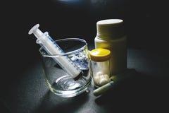 Drugs en pillen Royalty-vrije Stock Foto's