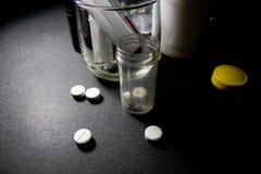 Drugs en pillen Royalty-vrije Stock Fotografie
