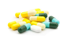 Drugs many pills Royalty Free Stock Photography