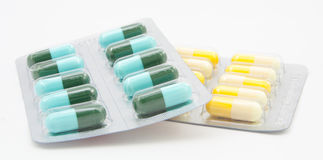 Drugs many pills Stock Image
