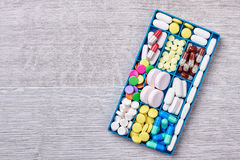 Drugs in medical container. Stock Photography