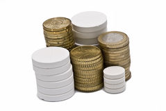 Drugs and money. Royalty Free Stock Photography