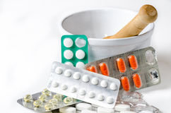 Drugs pills Royalty Free Stock Photo