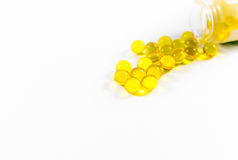 Drugs pills. On a white background Stock Photography