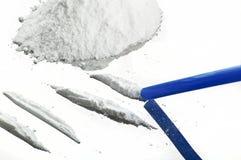 Drugs powder Royalty Free Stock Photos